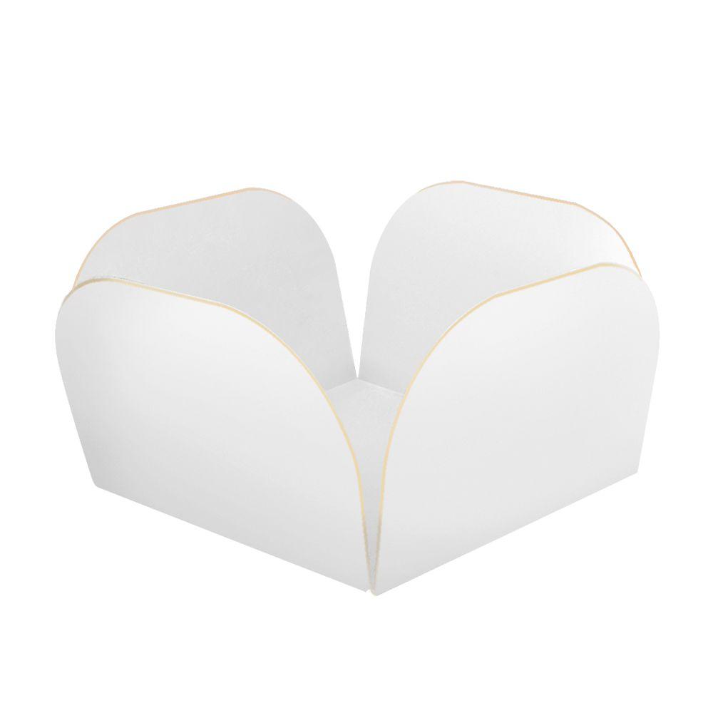 Embalagens para Doces Descartáveis Médio Branca Pct com 50 unid