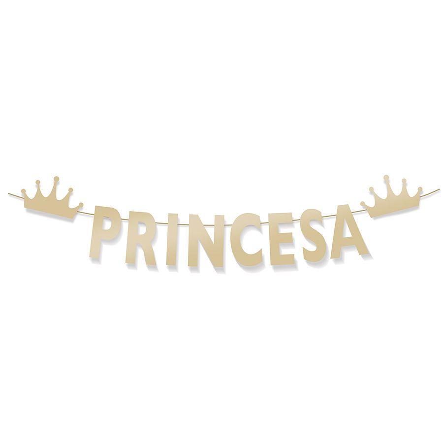 Faixa Decorativa Aniversário Festa Princesa