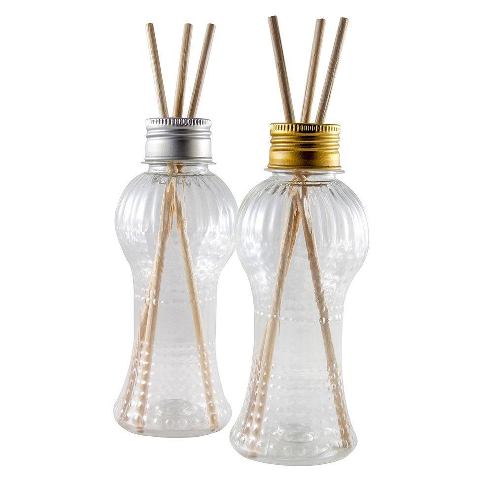 Frasco Cinturinha para Aromatizador de Ambiente Plástico 150 ml kit com 10 unid