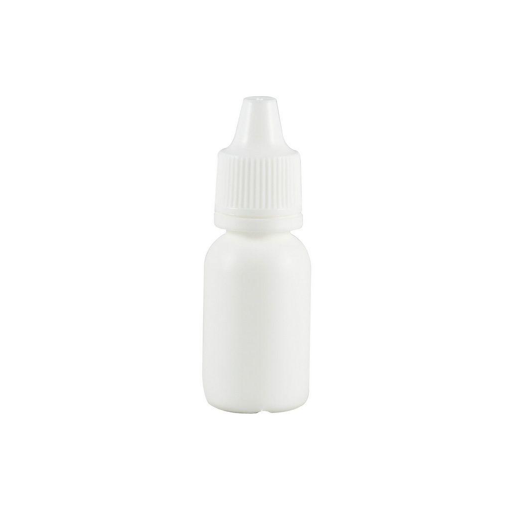 Frasco conta gotas 10 ml plástico gotejador Branco kit com 10 unid