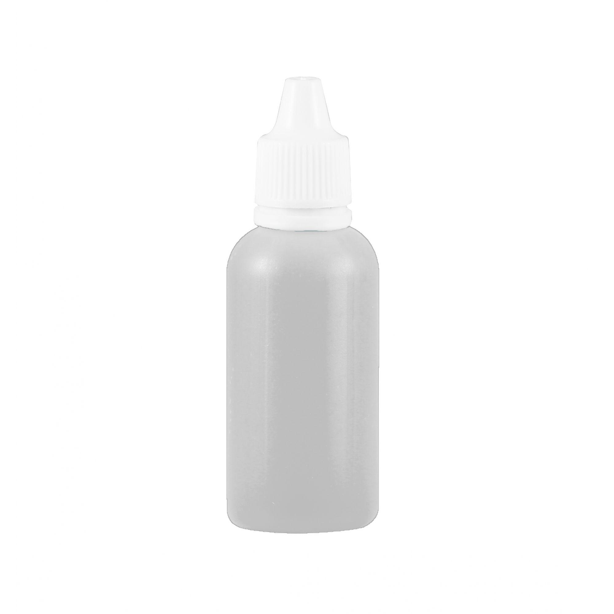 Frasco conta gotas 60 ml plástico gotejador Natural kit com 10 unid