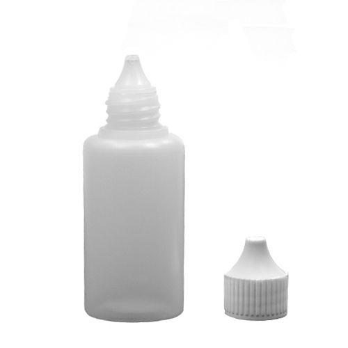 Frasco conta gotas de Plástico Sem Lacre 30 ml kit com 10 unidades
