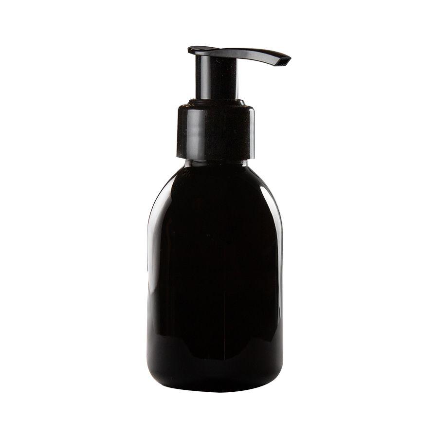 Frasco de PET âmbar para Sabonete Líquido 100 ml kit com 10 unid