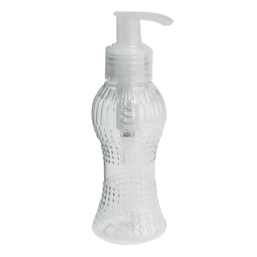 Frasco para Álcool Gel Cinturinha 100 ml com válvula pump kit com 15 unid