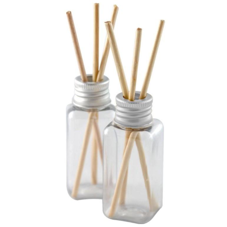 Frasco para Aromatizador Atacado Plástico de 40 ml kit com 80 unidades