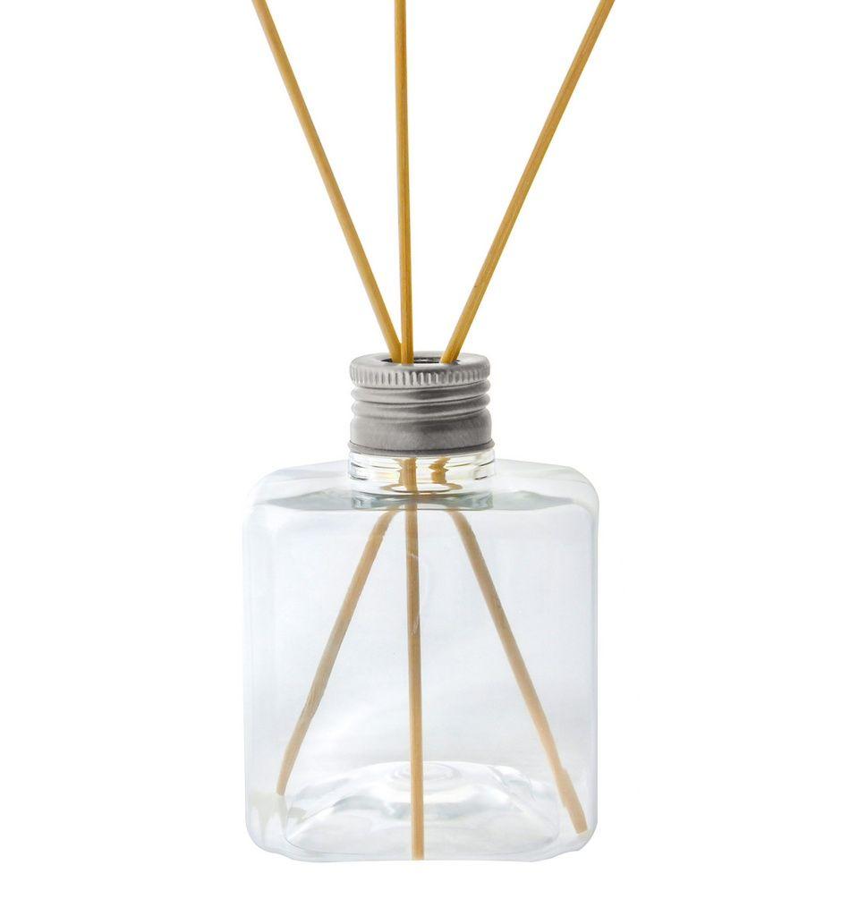 Frasco para Aromatizador Plástico Cubo de 300 ml kit 10 unid