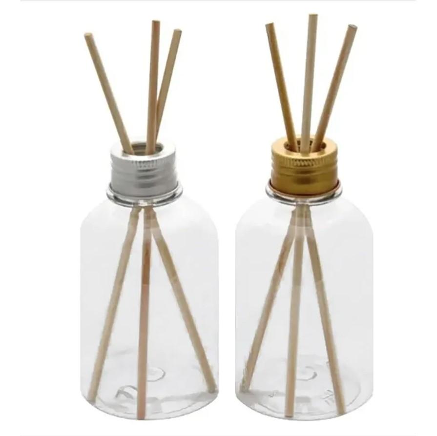 Frasco para Aromatizador Plástico de 250 ml kit com 60 unid