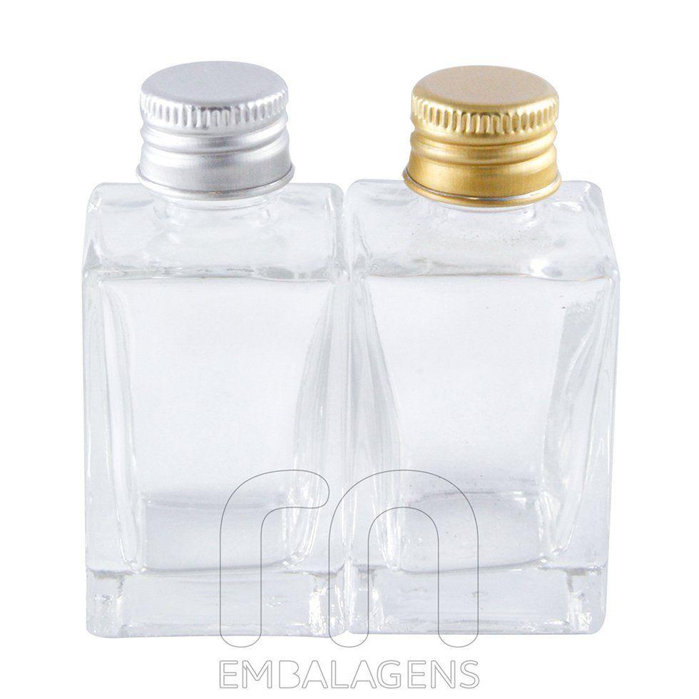 Frasco para Lembrancinhas de vidro 30 ml kit com 10 unid