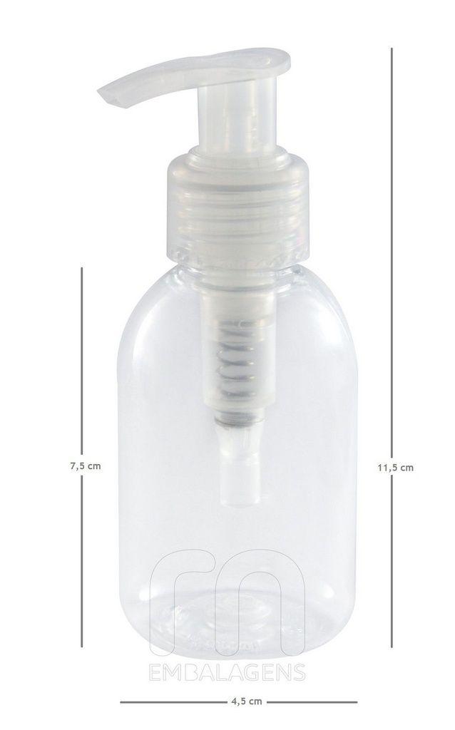 Frasco para Sabonete Líquido de 100 ml kit com 10 unid