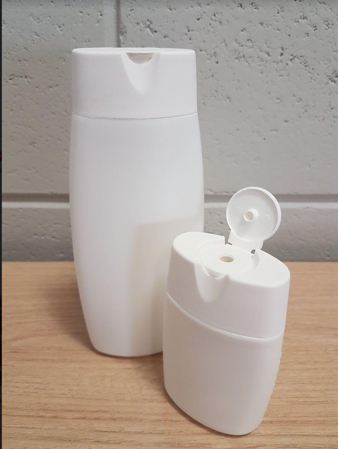 Frasco para Shampoo 120 ml kit com 10 - QUEIMA DE ESTOQUE