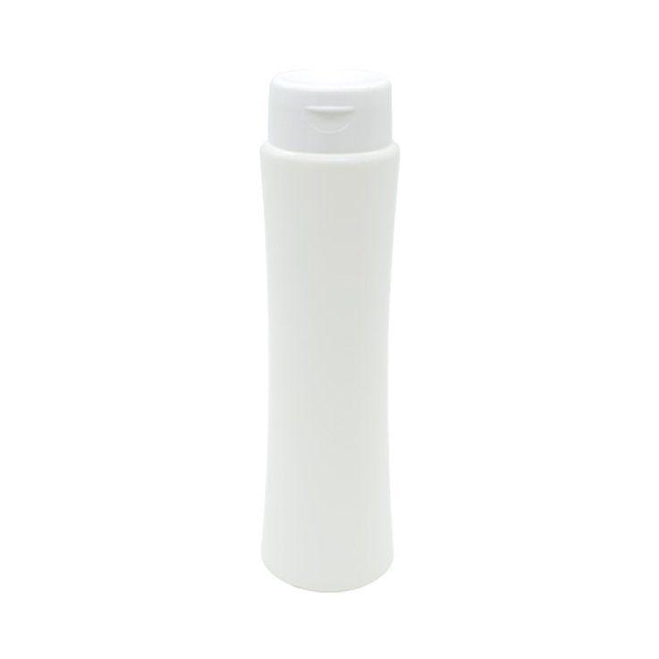 Frasco para Shampoo Cinturinha 250 ml Tampa Flip Top kit com 10 unid