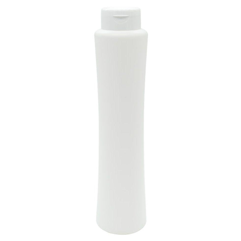 Frasco para Shampoo Cinturinha 500 ml Tampa Flip Top kit com 10 unid