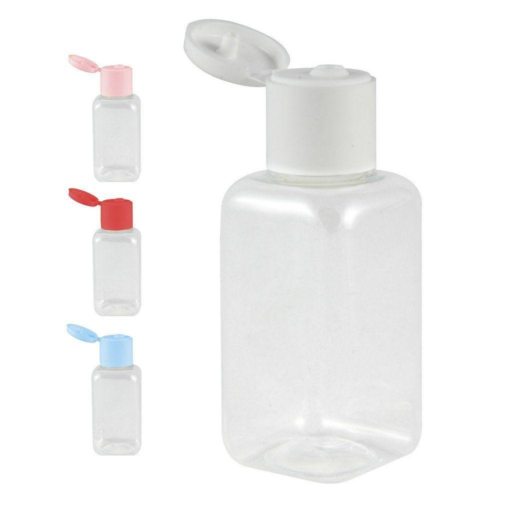 Frasco Pet 40 ml com Tampa Flip Top para Lembrancinhas kit com 100 unid
