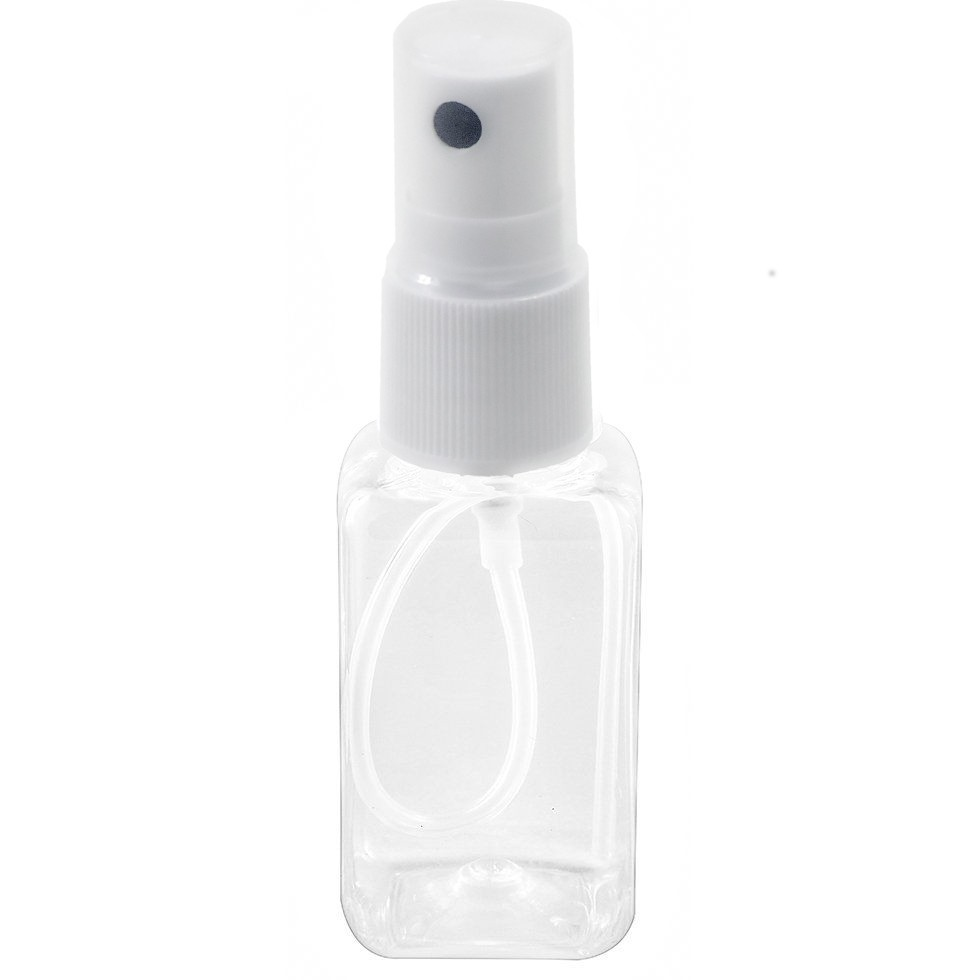 Frasco PET para aromatizador spray de 40 ml kit com 50 unid