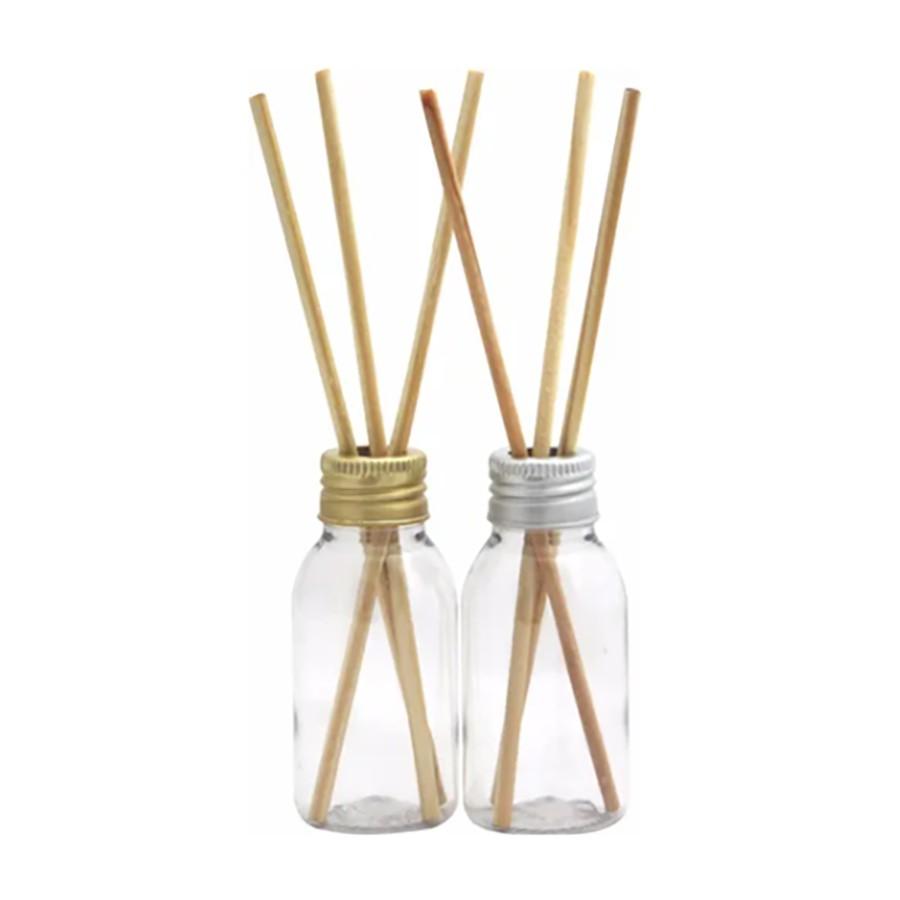 Frasco plástico para Aromatizador 60 ml com varetas kit com 50 unid