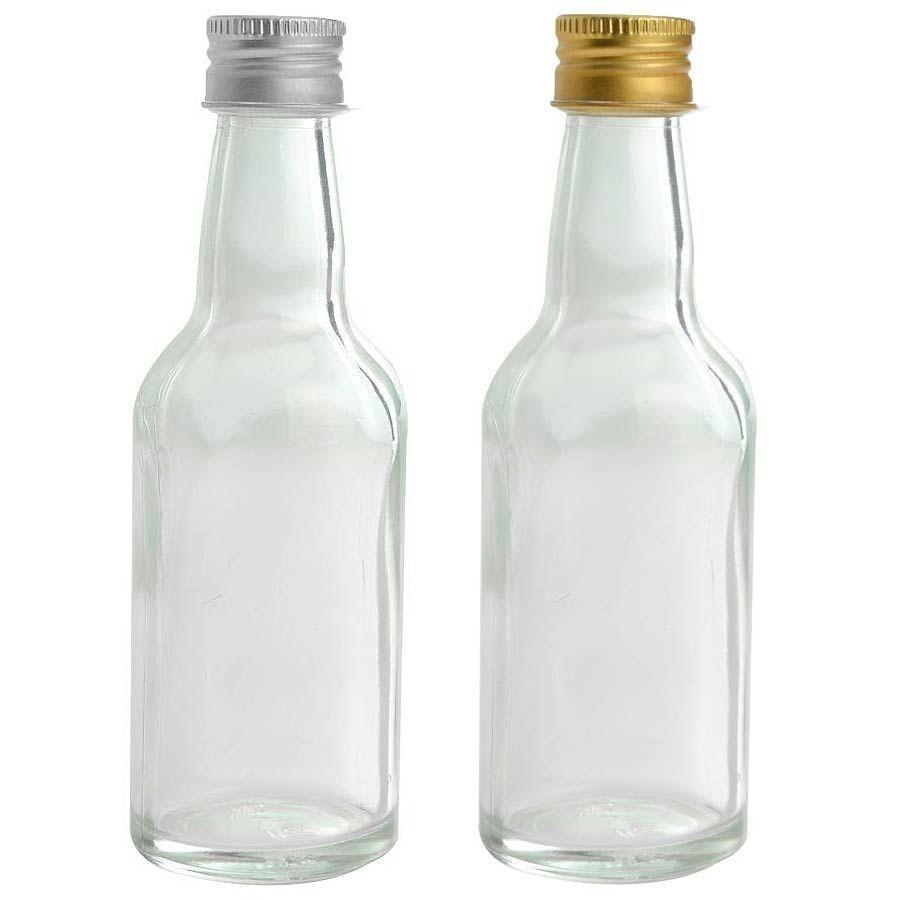 Garrafinhas para Lembrancinhas 50 ml de vidro kit com 10 unid