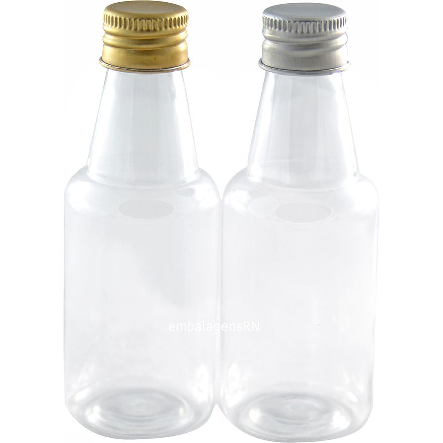 Garrafinhas para Lembrancinhas 50 ml Tampa Metal (100 unid.)