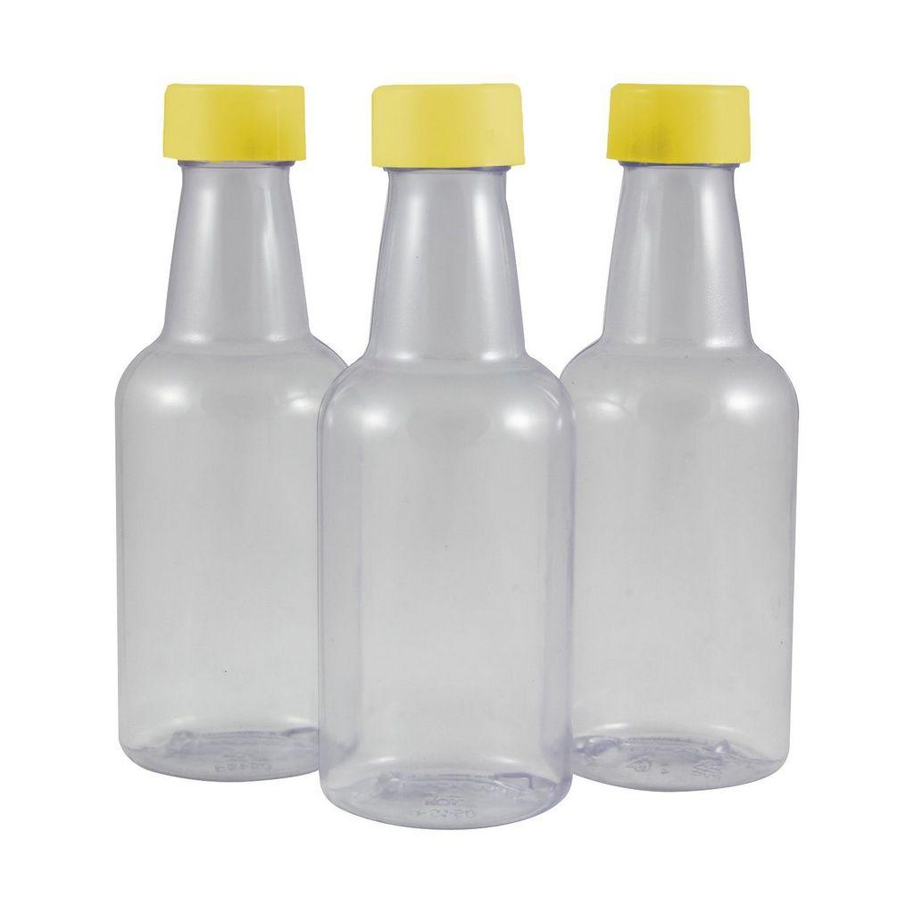 Garrafinhas para lembrancinhas PVC de 50 ml Plástica kit com 10 unid