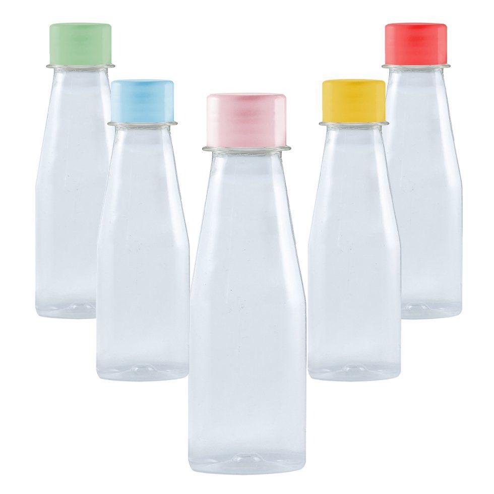 Garrafinhas Plástica para Suco 130 ml kit com 10 unid