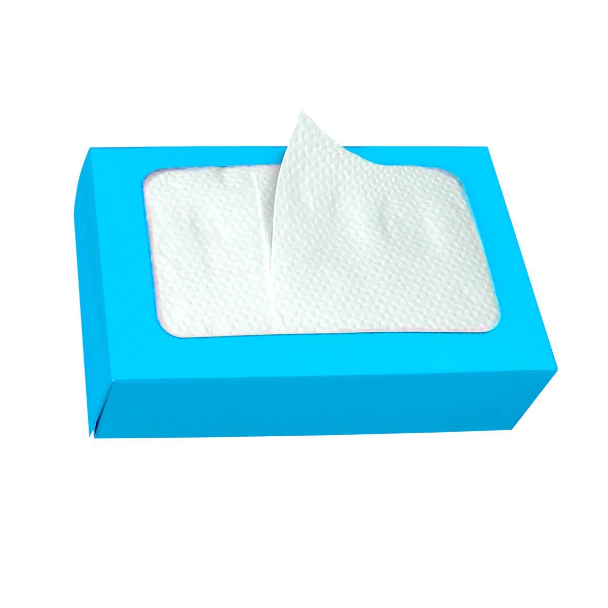 Guardanapo de Papel Descartável BOXPAK Azul Bebê