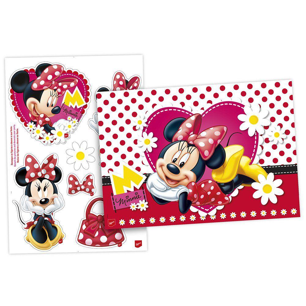 Kit de Cartazes para Decoração da Minnie