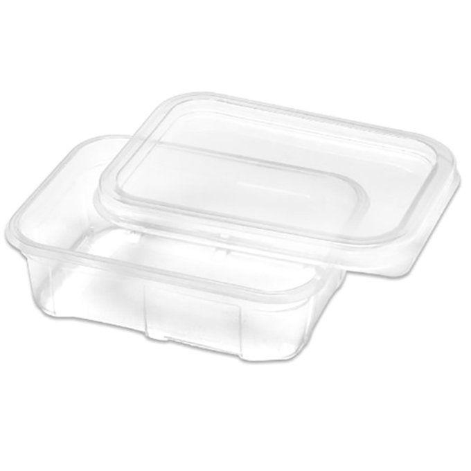 Marmitinha plástica 500 ml com tampa pacote com 24 unid