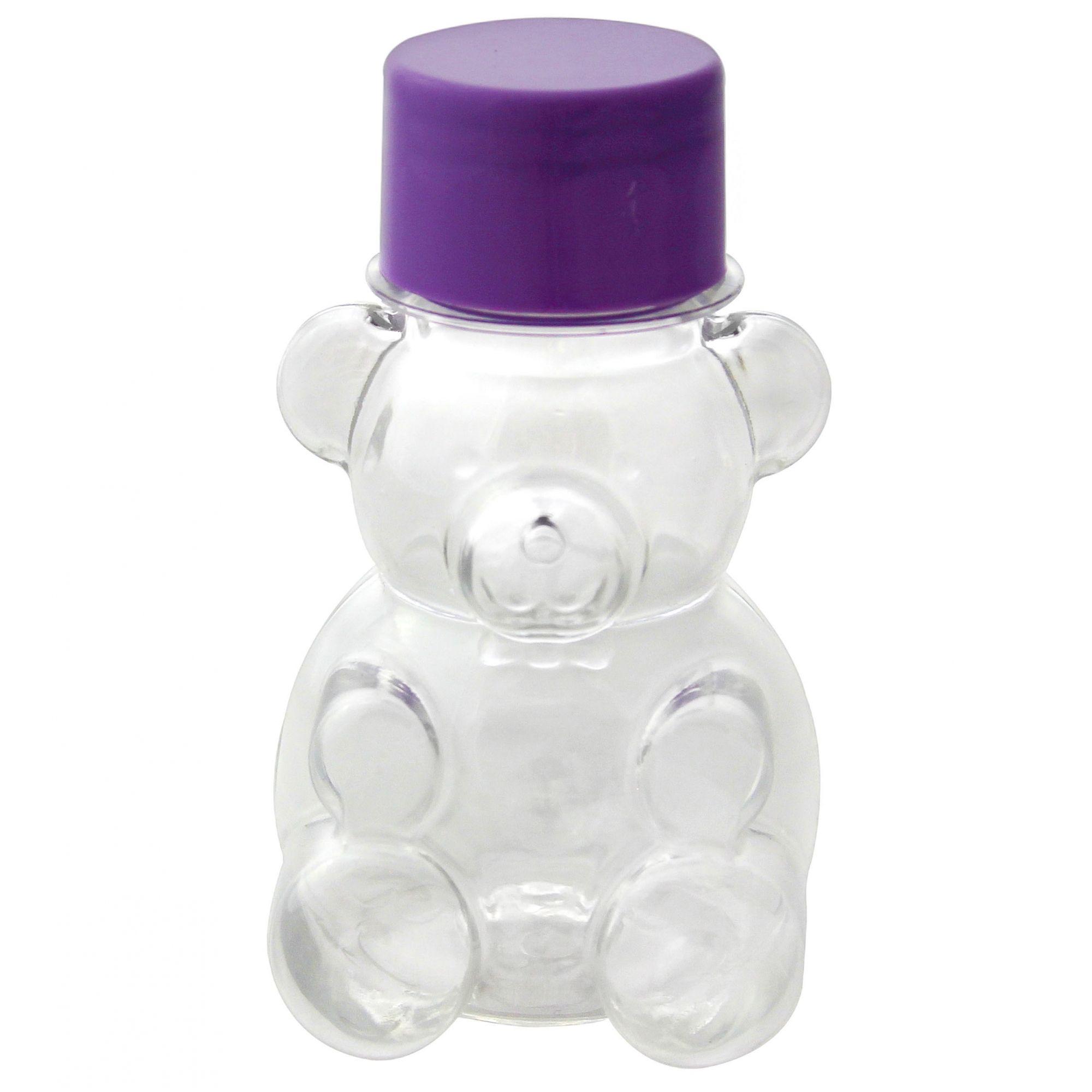 Mini Baleiro Tubete Ursinho Lembrancinha Maternidade kit com 10 unidades