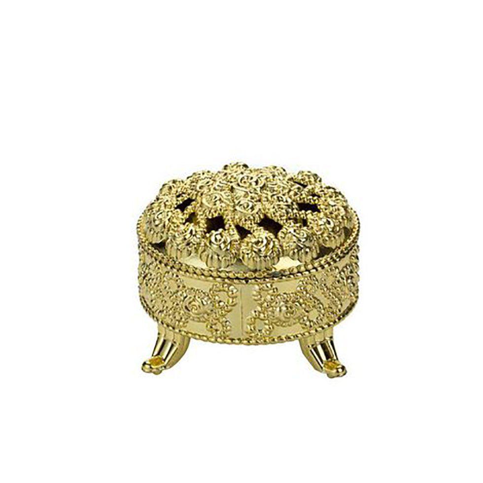 Mini porta Joia Dourado kit com 6 unid