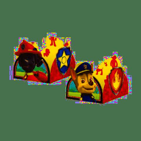 Porta forma de Brigadeiro da Patrulha Canina kit com 50 unid
