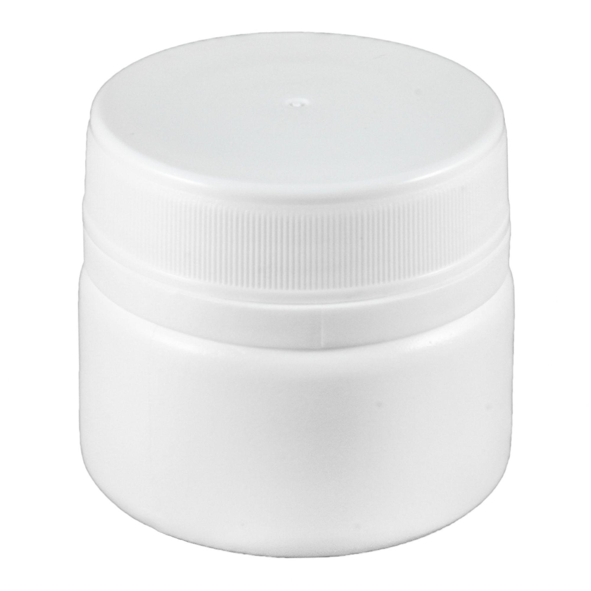 Pote de Creme e Pomada vazio de 40 ml kit com 10 Unidades.