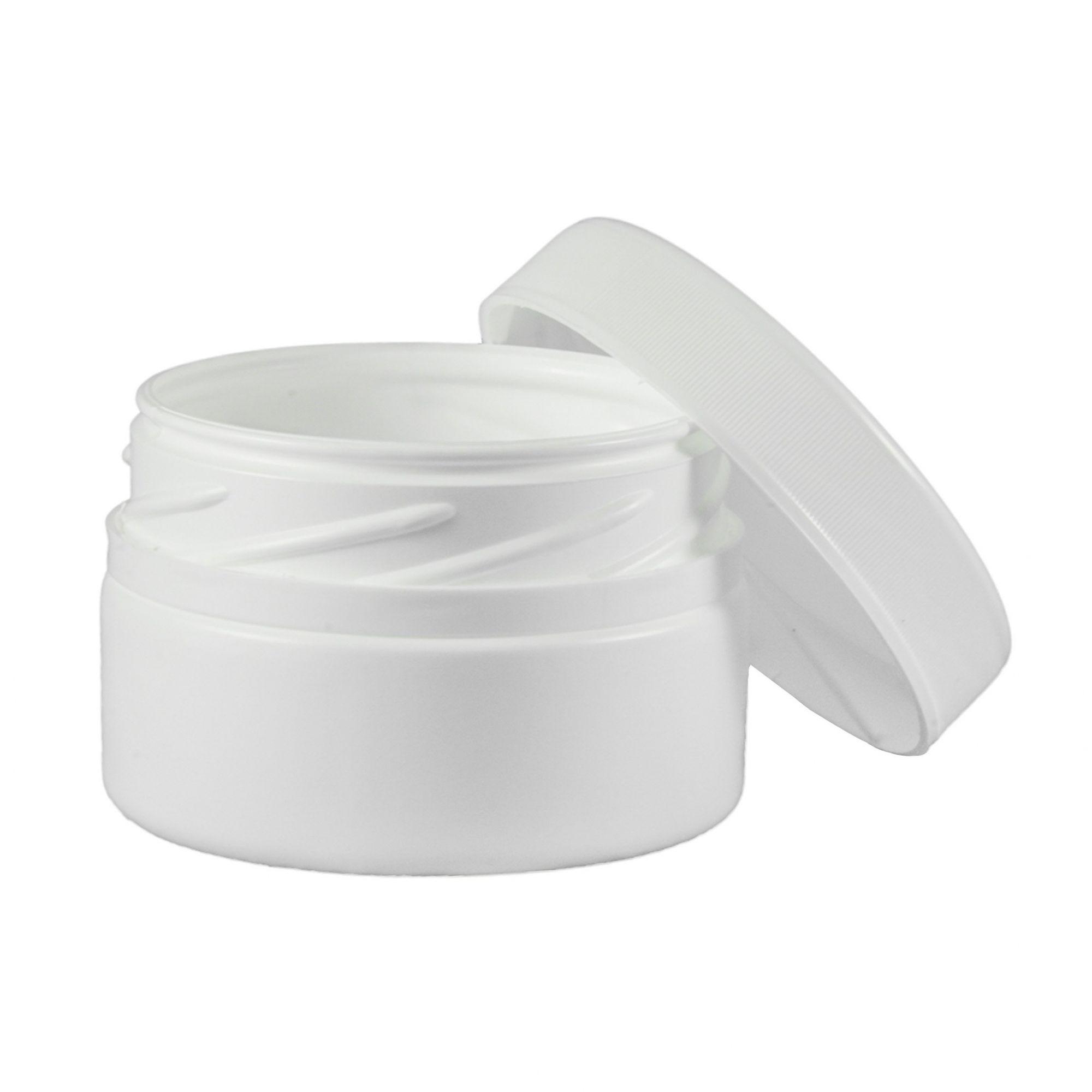 Pote de Creme e Pomada vazio de 70 ml kit com 10 Unidades.