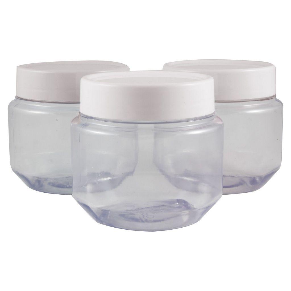 Pote de Papinha 120 ml de plástico PVC kit com 10 unid