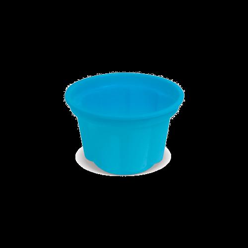 Pote de Sobremesa 120 ml Azul Bebê
