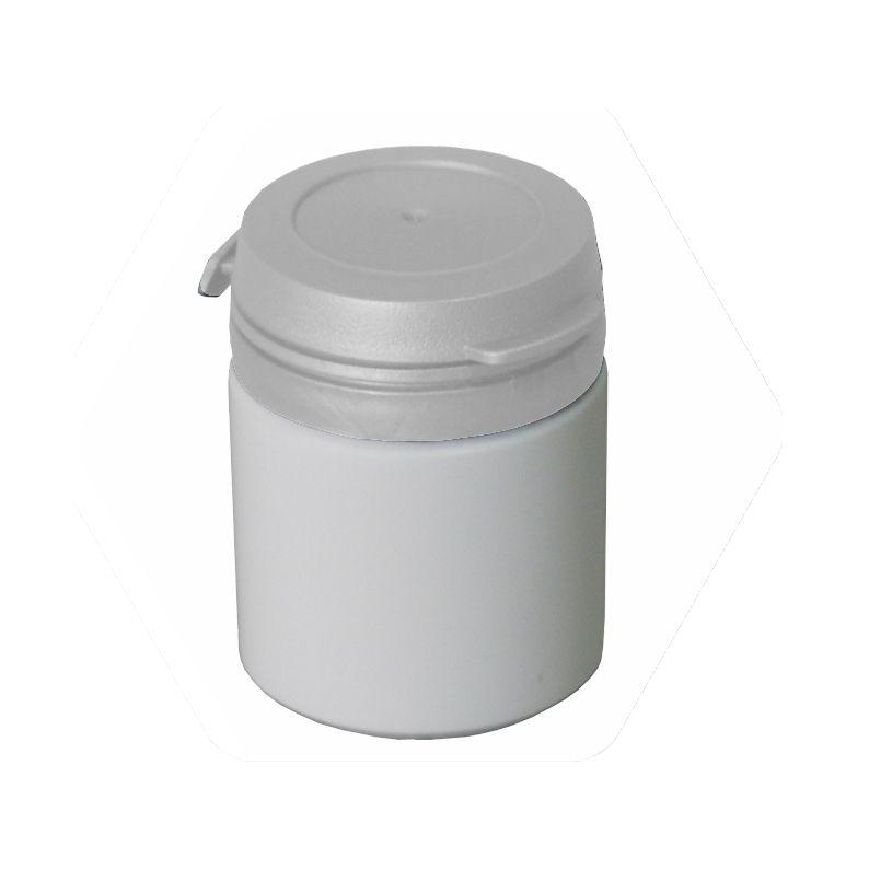Pote para Cápsula com tampa lacre de pressão S-25 pct com 50 unid