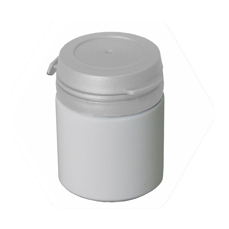 Pote para Cápsula com tampa lacre de pressão S-30 pct com 50 unid