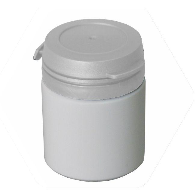 Pote para Cápsula com tampa lacre de pressão S-50 pct com 50 unid