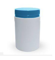 Pote Plástico 1000 ml Rosca Lacre kit com 10 unid