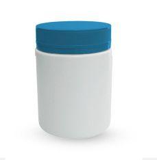 Pote Plástico 250 ml Rosca Lacre kit com 10 unid