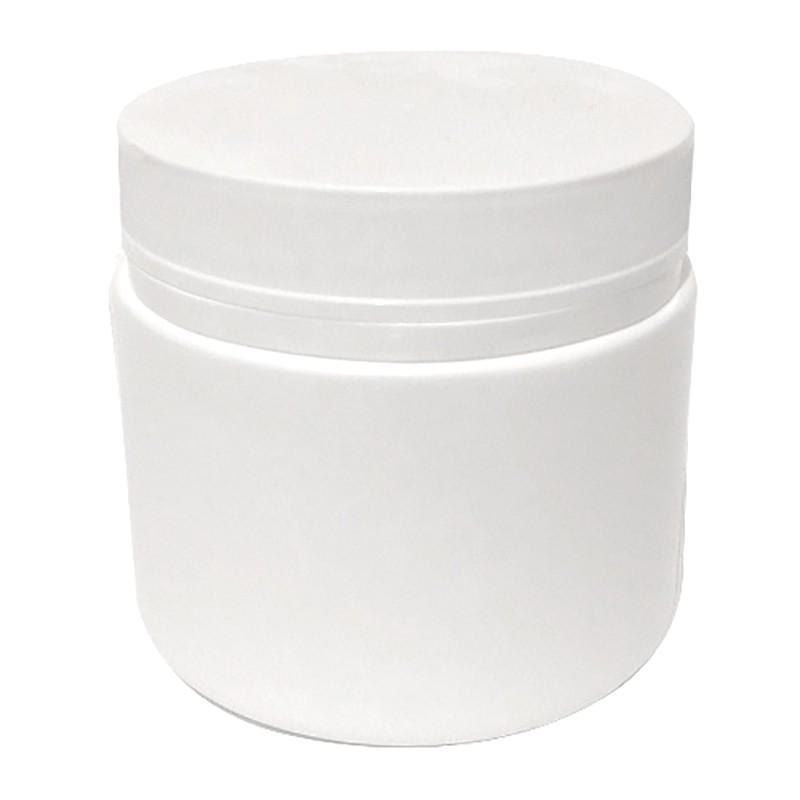 Pote Plástico 500 ml Rosca Lacre kit com 25 unid