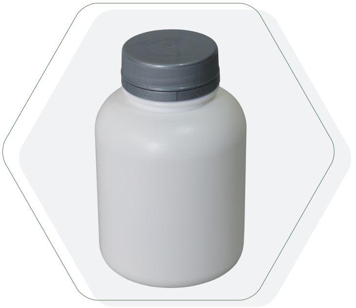 Pote Plástico para cápsula 240 ml Rosca Lacre kit 10 unid