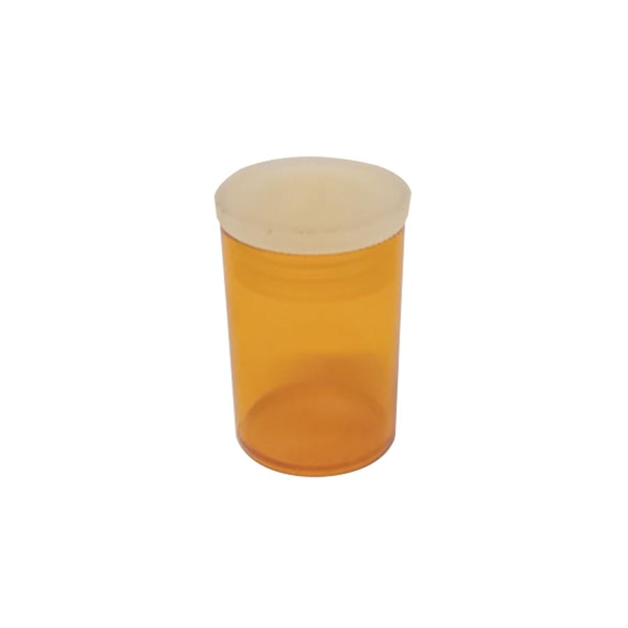 Potinho de Acrílico Âmbar 10 ml kit com 100 unid