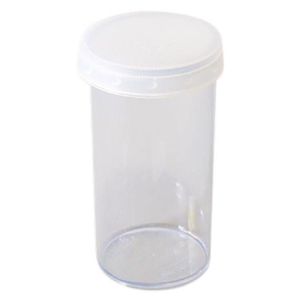 Potinho de Acrílico Cristal 70 ml com lacre kit com 10 unid