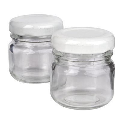 Potinho de Vidro 40 ml Liso para Brigadeiro kit com 10 unid