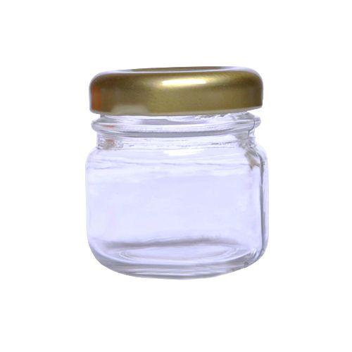 Potinho de Papinha de Vidro 40 ml Liso para Brigadeiro kit com 10 unid