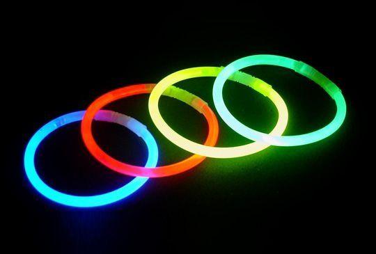 Pulseira Pulseirinhas Neon para festas e Lembrancinhas pacote com 100 unid