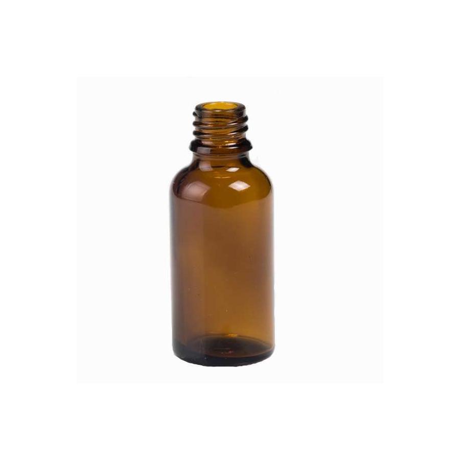 QUEIMA DE ESTOQUE - Vidro âmbar 15 ml kit com 10