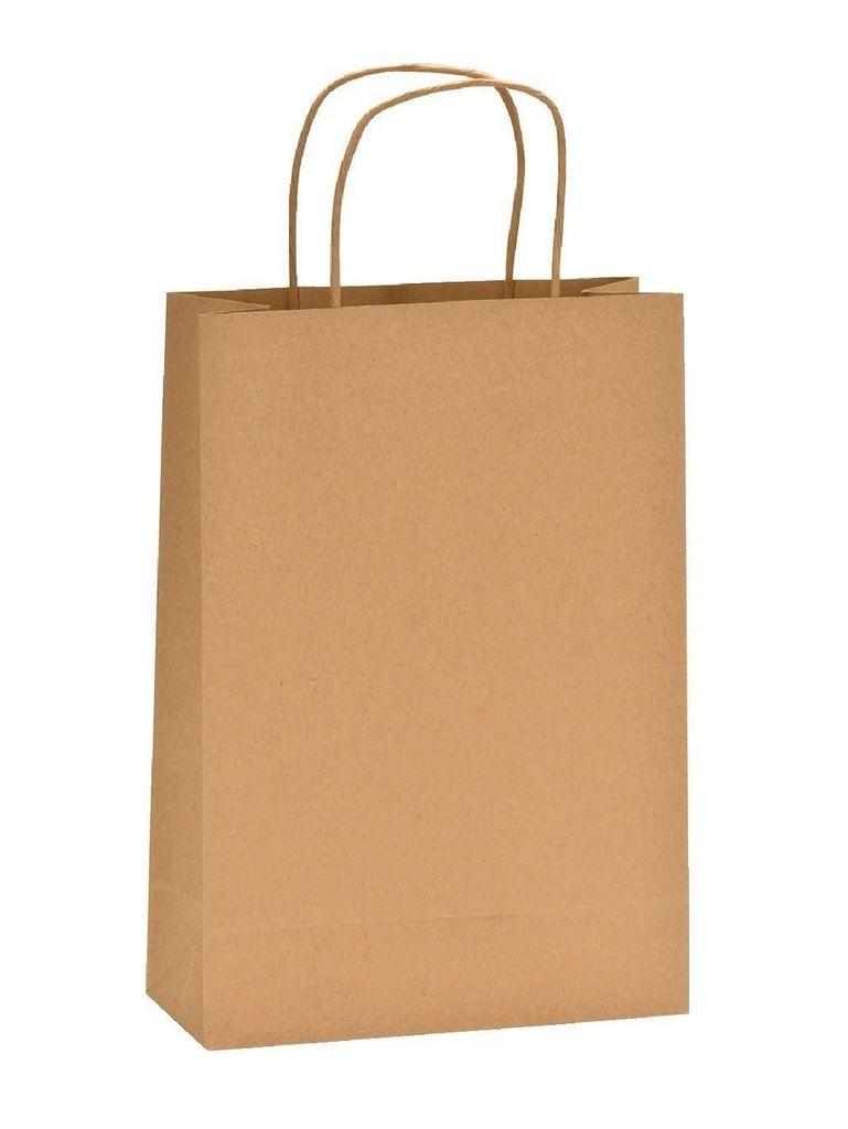 Sacola Kraft para Lembrancinhas 12x9x22 kit com 10 unid