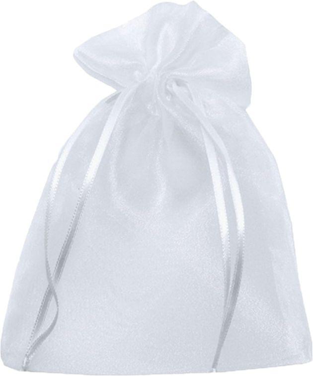 Saquinho de Organza Voal 12x17 para Lembrancinhas kit com 10 unid
