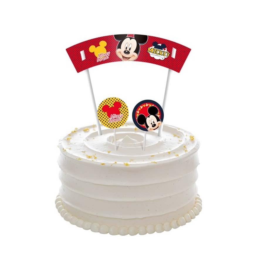 Topper para Decoração de Bolo do Mickey