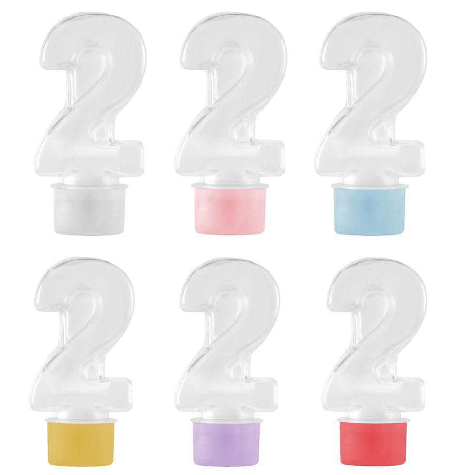 Tubete Numero 2 para Lembrancinhas kit 10 unid